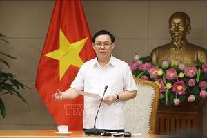 Phó Thủ tướng Vương Đình Huệ tiếp Chủ tịch Tập đoàn Bảo hiểm Thái Bình