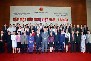 Phó Chủ tịch Quốc hội Uông Chu Lưu dự buổi gặp mặt hữu nghị Việt Nam - Liên bang Nga