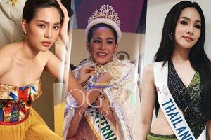 Nhan sắc gây bất ngờ của tân Hoa hậu Quốc tế vừa đăng quang