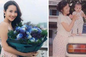 Tình cũ Phan Thành khoe tấm ảnh thời bé chụp cùng mẹ