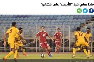 Báo UAE lo lắng số phận bi đát của đội nhà nếu thua Việt Nam