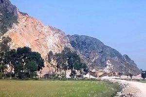 Thanh Hóa: Kết luận khiếu nại của công dân về mỏ đá Công ty Thanh Hưng