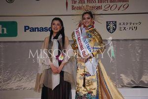 Á hậu Tường San xuất sắc lọt Top 15 chung cuộc tại Hoa hậu Quốc tế 2019