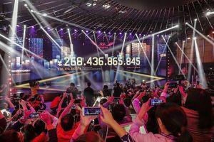 Alibaba thu 38 tỷ USD ngày Lễ độc thân