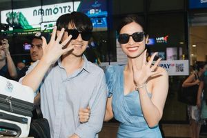 Đông Nhi hạnh phúc khoác tay Ông Cao Thắng, rạng rỡ khoe nhẫn cưới khi trở về TP HCM