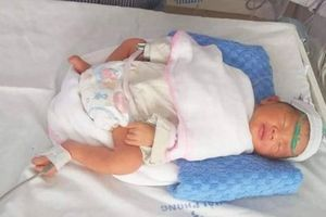 Cứu thai nhi 34 tuần trong bụng mẹ bầu tử vong do tai nạn giao thông