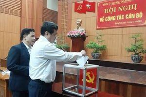 Ông Lê Trí Thanh được bầu giữ chức Phó Bí thư Tỉnh ủy Quảng Nam