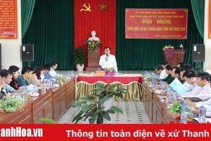 Xã Điền Trung (Bá Thước) hoàn thành các tiêu chí xây dựng NTM