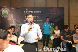 Ra mắt Giải bóng đá sân 7 người Biên Hòa 2019