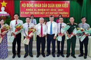 Nhân sự, lãnh đạo mới tại Cần Thơ, Thái Nguyên