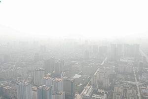 Chất lượng không khí ở Hà Nội đang ở mức đáng lo ngại