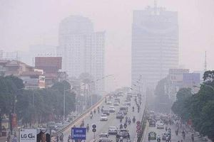 Chất lượng không khí Hà Nội chạm ngưỡng nguy hại