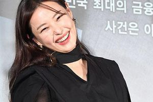 Hoa hậu Honey Lee diện chân váy xuyên thấu
