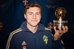 Hậu vệ MU đoạt Quả bóng Vàng Thụy Điển lần thứ 2 liên tiếp