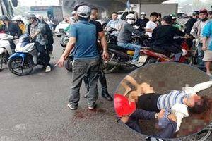 Hà Nội: Cãi vã giữa đường, người đàn ông cầm dao chém vợ trọng thương