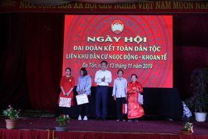 Liên khu Ngọc Động - Khoan Tế tưng bừng trong Ngày hội Đại đoàn kết