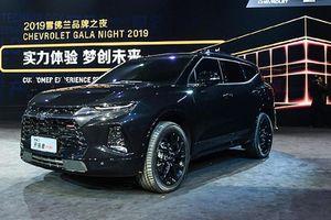 Chi tiết xe SUV Chevrolet Blazer 7 chỗ tại Trung Quốc