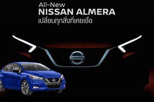 Nissan Sunny 2020 'giá mềm' sắp ra mắt tại Đông Nam Á