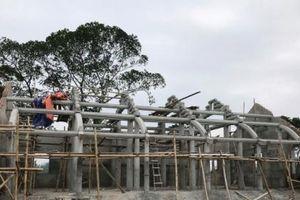 Xây chùa trái phép trong khu vực bảo vệ của Di tích cấp Quốc gia tại Nghệ An