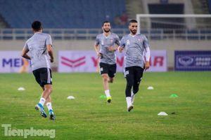 Mục kích UAE 'luyện công' trước trận đấu với tuyển Việt Nam