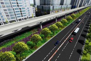 TP.HCM: 14km dọc metro số 1 sẽ được tạo mảng xanh