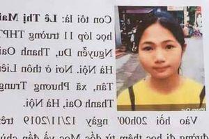 Cảnh sát vào cuộc vụ nữ sinh lớp 11 ở Hà Nội 'mất tích' khi đi học thêm