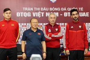Gạch tên 2 cầu thủ, HLV Park Hang Seo chốt danh sách tuyển Việt Nam đấu UAE