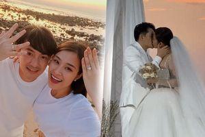 Hậu đám cưới, Đông Nhi nói với Ông Cao Thắng: 'Sau 10 năm, tình yêu không nhạt mà còn đậm sâu hơn thời trẻ'