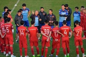 HLV Park Hang Seo chính thức loại 2 cầu thủ trước trận gặp UAE