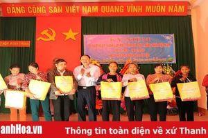 Đồng chí Chủ nhiệm Ủy ban Kiểm tra Tỉnh ủy Trần Quang Đảng dự Ngày hội đại đoàn kết các dân tộc tại thôn Minh Thịnh, xã Minh Lộc