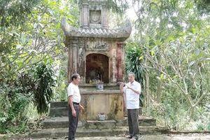 Thanh Hóa: Khu di tích đền thờ và lăng mộ Nguyễn Nhữ Lãm: Cần được xây dựng xứng tầm