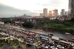 Hà Nội phân luồng giao thông phục vụ các trận đấu của đội tuyển bóng đá Việt Nam