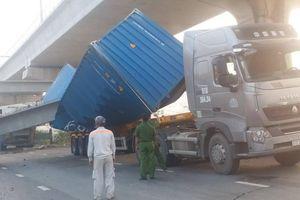 Vụ container kéo sập dầm cầu bộ hành QL1: Chủ đầu tư nói gì?