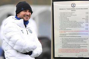 Cầu thủ Chelsea bị phạt gần 600 triệu đồng nếu đi tập muộn