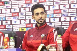 Cầu thủ UAE chúc ĐT Việt Nam may mắn