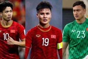 Danh sách chính thức 23 cầu thủ ĐT Việt Nam tham dự trận gặp ĐT UAE