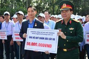 Trồng hơn 2.000 cây Thông Mã Vĩ tại Khu di tích Đá Chông - K9, Hà Nội