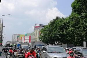 Vì sao giao thông quanh Công viên Hoàng Văn Thụ tê liệt?