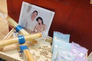 Lâm Chí Linh công bố thiệp cưới và quà mừng trước hôn lễ