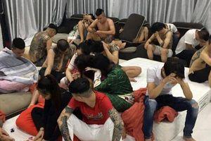 Bắt thanh niên thuê villa tổ chức tiệc ma túy