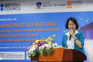 Hội thảo quốc tế về Nâng cao chất lượng thực tiễn giáo dục đại học