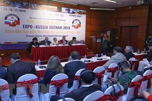 Khai mạc Diễn đàn xúc tiến thương mại và đầu tư Việt-Nga và Triển lãm Quốc tế Việt- Nga