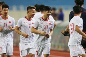Đội hình Việt Nam vs UAE: Tuấn Anh và Công Phượng đá chính