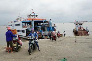 Hải Phòng: Tạm dừng bến phà Gót để đảm bảo an toàn khi thi công cáp treo