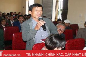 Cử tri Cẩm Xuyên, Can Lộc đề nghị tăng phụ cấp cho cán bộ thôn, đảm bảo tinh gọn, hoạt động hiệu quả