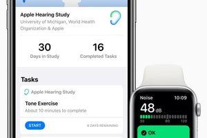 Apple ra ứng dụng cho phép người dùng tham gia nghiên cứu về sức khỏe