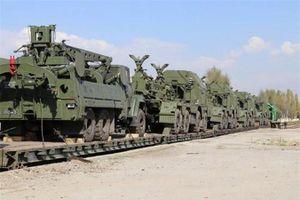 Hệ thống phòng không S-300PS Nga đưa sang Tajikistan chuẩn bị trực chiến