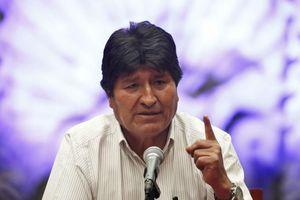 Ông Morales cảnh báo giới lãnh đạo Bolivia: 'Đừng để tay nhuốm máu'