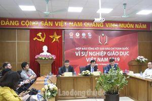 44 tác phẩm đạt giải Báo chí toàn quốc 'Vì sự nghiệp Giáo dục Việt Nam'