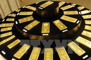 Giá vàng tăng do chứng khoán châu Á giảm điểm